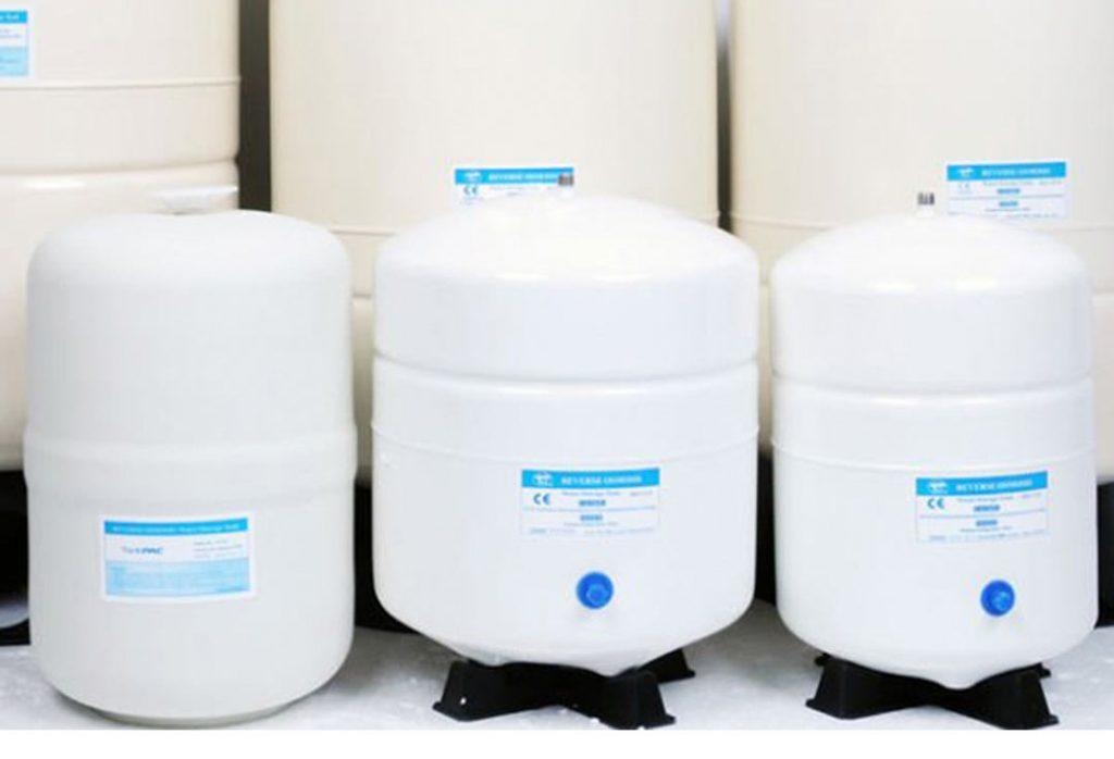 مخازن دستگاه تصفیه آب خانگی