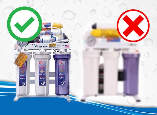 تشخیص دستگاه تصفیه آب اصل از تقلبی
